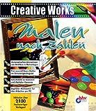 Malen nach Zahlen. CD- ROM für Windows 95/98/ NT. 2100 Vorlagen