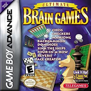 NINTENDO // GAME BOY ADVANCE // ULTIMATE BRAIN GAMES