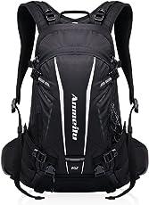 GemCoo Fahrradrucksack 20L Multifunktionaler Wanderrucksack Wasserdicht mit Regen Cover Helm für Sport Reiten Reisen Camping
