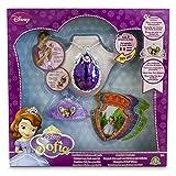 Prinzessin Sofia–Magisches Amulett, Mini Tiara und 8Karten mit Stimme (GIOCHI PREZIOSI 58638)