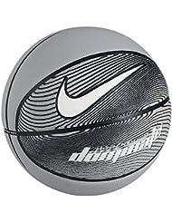 Nike Dominate Balón, Unisex adulto, Multicolor (Wolf Grey / Black / White), 7