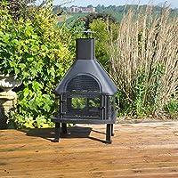 Kingfisher Garden Log Burner/BBQ Firepit