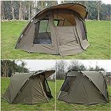 Quest Komfort MK1Karpfenangeln Kinderwagen Kapuze 1Mann Bivvy Shelter Zelt