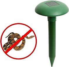 EasyBuy India Ultrasonic Waves Solar Powered Outdoor Snake Repeller(Green)