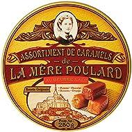 Biscuiterie Mère Poulard Coffret Collector d'Assortiment de Caramels au Beurre Salé Pomme/Noisette/Chocolat/Orange...