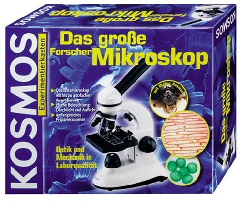 Kosmos experimentierkasten das große forschermikroskop
