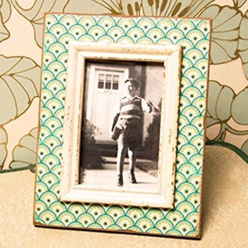 Sass & Belle Boudoir Stamp Bilderrahmen Photo Frame - Aqua Blau