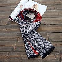XBR cotton foulard à l'ancienne éolienne l'impression en noir et blanc accroche mesdames solaire