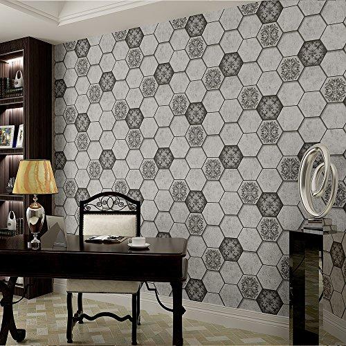 vintage-style-hexagon-brick-honeycomb-design-acanthus-leaf-3d-embossed-wallpaper-33-10m-full-roll-bl
