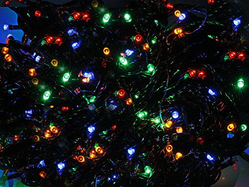 Vetrineinrete® luci natalizie a led per albero di natale catena