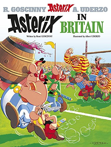 Asterix in Britain: Album 8