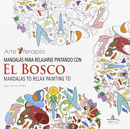 Mandalas para relajarse pintando con el BOSCO por Sergio Guinot Studio