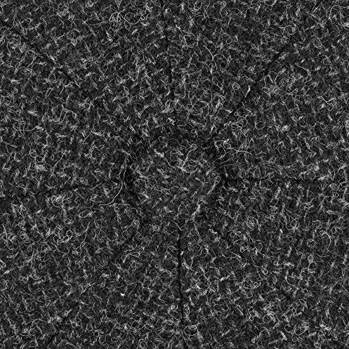 Casquette Hatteras Wool Rough Stetson bonnet type gavroche casquette pour l´hiver Anthracite
