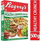 Bagrry's Healthy Crunch Muesli with Almonds and Raisins, 500g