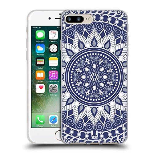 Head Case Designs Grün Kreise Mod Muster Soft Gel Hülle für Apple iPhone 5 / 5s / SE Verzaubert