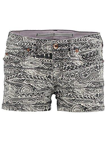O'Neill Damen Hose LW Island Shorts Print Black Aop