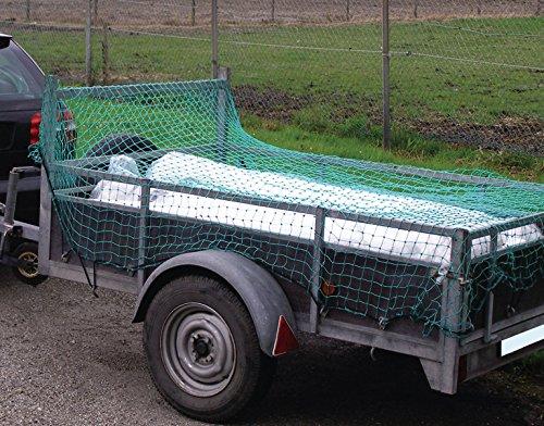 Preisvergleich Produktbild Green Tower Ladungssicherungsnetz Anhängernetz KFZ Ladungssicherung verschiedene Größen (180 x 350 cm)