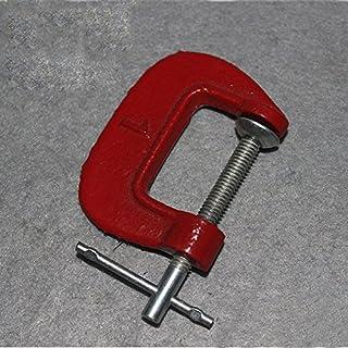 Multi Size G Form Clamp, Edelstahl Krampf Tischler Holzbearbeitung DIY Handwerkzeuge für Heimwerker Projekte und Fotografie Studios