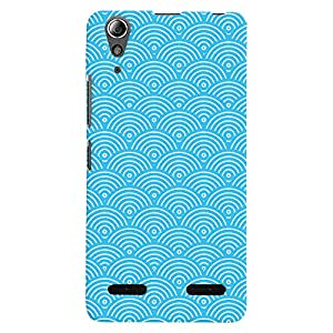 ColourCrust Lenovo A6000 Plus Mobile Phone Back Cover With Pattern Style - Durable Matte Finish Hard Plastic Slim Case