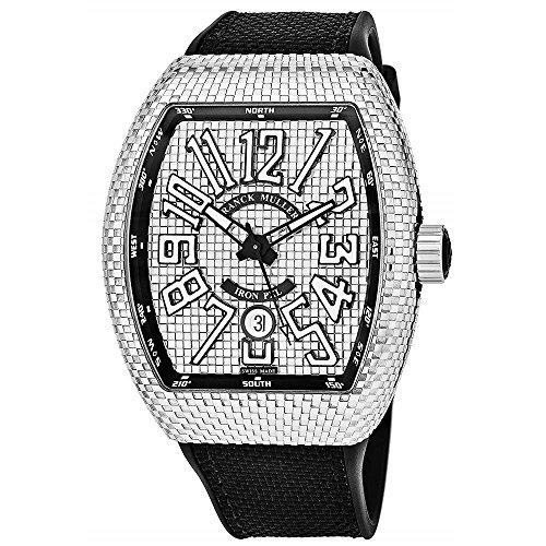 Franck Muller Vanguard pxl Herren-Armbanduhr Automatik 45SCPXLSIL