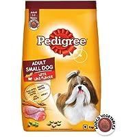 Pedigree Adult Small Dog Dry Food, Lamb & Veg Flavour – 3 kg Pack