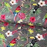 John Louden Patchwork Birds of Paradise Soft-Furnishing