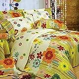 Weimilon Baumwolle Bettbezug Vier Jahreszeiten,Gitter,Gestreift,Einzigen,Student,Individuell,Double A Casual Chic 200X230Cm(79X91Inch) (Color : X, Size : 150x215Cm)
