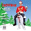 Carry Me® Snowman Adult Costume One Size
