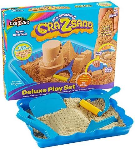 Cra-Z-Art CraZsand (expédiés Deluxe Play Set - Brown Sable (expédiés CraZsand à partir du Royaume-Uni) 87cb31