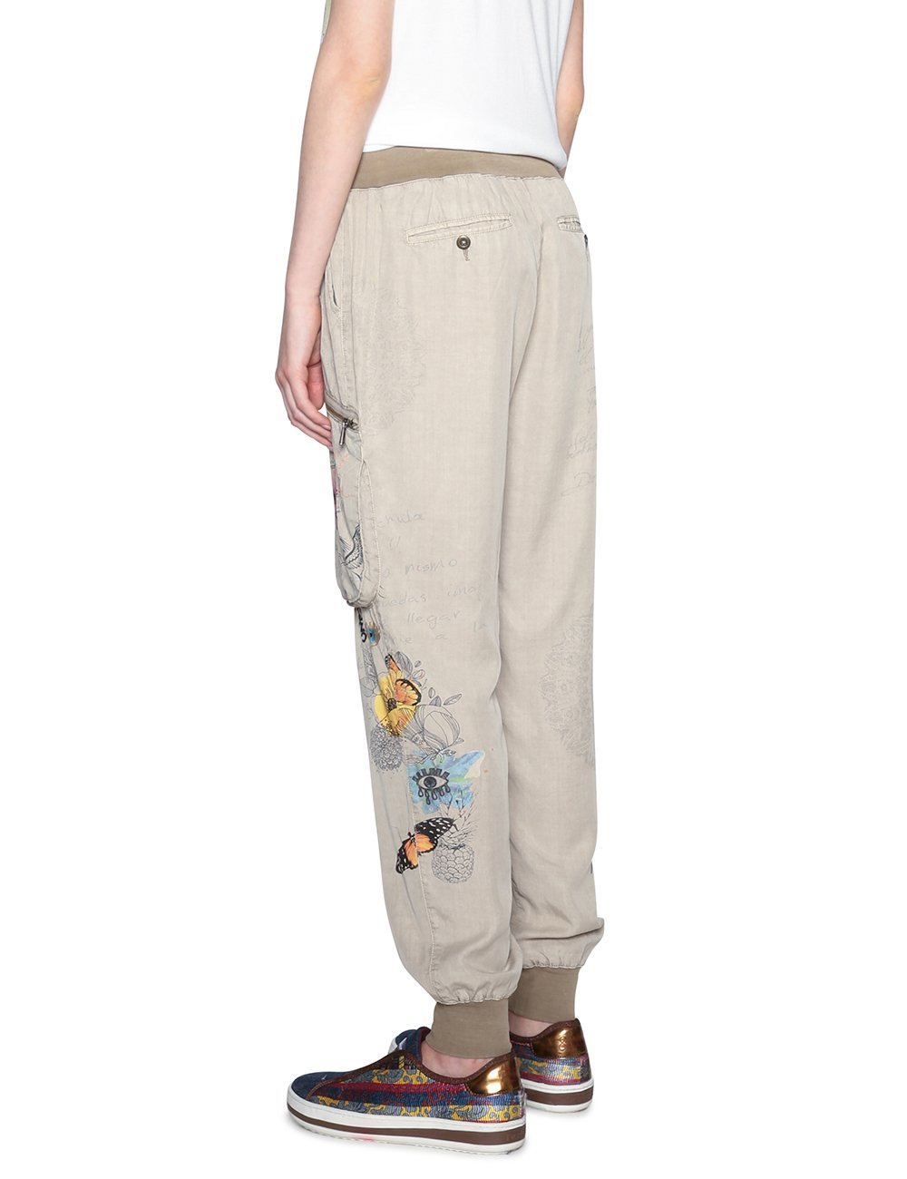 Desigual Pant_Eddy Pantalones para Mujer