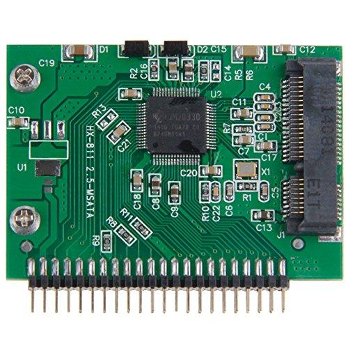 YCDZ STORE Computerkabel mSATA-Mini-PCI-E-SSD-Buchse auf 3,3 V 2,5 Zoll 44-Pin-IDE-Konverterkarte -