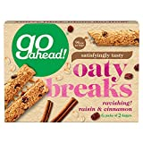 Go Ahead Raisin and Cinnamon Oaty Breaks, 248 g