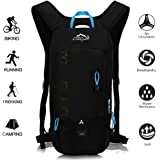 OUTDOOR LOCAL LION 10L Zaino Idratazione Ultraleggero per Alpinismo Escursionismo Zainetto per Ciclismo Backpack di Campeggio Sport Outdoor Unisex per Ciclismo