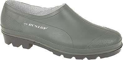 Latest Generation Unisex Waterproof Dunlop Garden Shoe, Green, 6.5 UK
