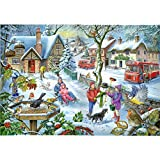 1000 Piece Jigsaw Puzzle - Find the Differences No.3 - 'In the Snow!'