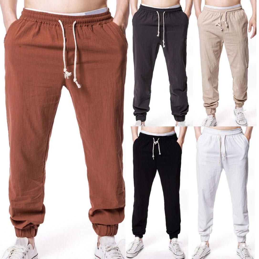 ba8da60fa48e Startseite   Herren Jumpsuit   Shisha   Qmber Hose Herren Leinen Lang Slim  Fit Hosen Herren Lang Cargo Elegant