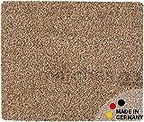 matches21 Fußmatte Teppich Läufer Baumwolle Uni farbig/einfarbig beige 50x60 cm Rutschfest maschinenwaschbar
