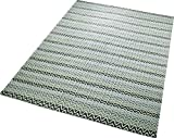 Esprit Teppich Massoni (160 x 230cm) in Grau - 100% Wolle - Florhöhe 10mm