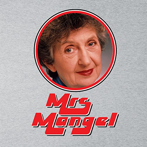 Mrs Mangel Neighbors Retro Photo Frame Women's Vest Heather Grey