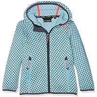 CMP lana 3h16575niña Chaqueta, Otoño-invierno, niña, color Sky L.Mel.-Clorophilla, tamaño 176