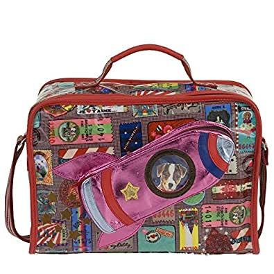 Oilily Tickets S Suitcase Brown