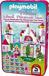 Schmidt Spiele - 51287 - Jeu De Poche - Playmobil, Vite, Princesse Sissi!