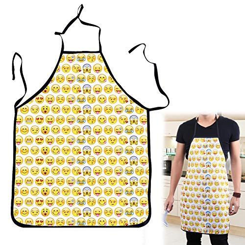 Romote Eine Neue Schürze Funny-Schürzen Printed Partei Grill-Ofen Kuchen Chef der Männer und Frauen schmückten 28,7 × 23 Yingcun -