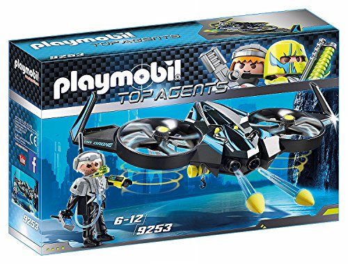 Playmobil Agentes Secretos- Mega Drone
