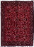 Nain Trading Khal Mohammadi 234x173 Orientteppich Teppich Dunkelbraun Handgeknüpft Afghanistan