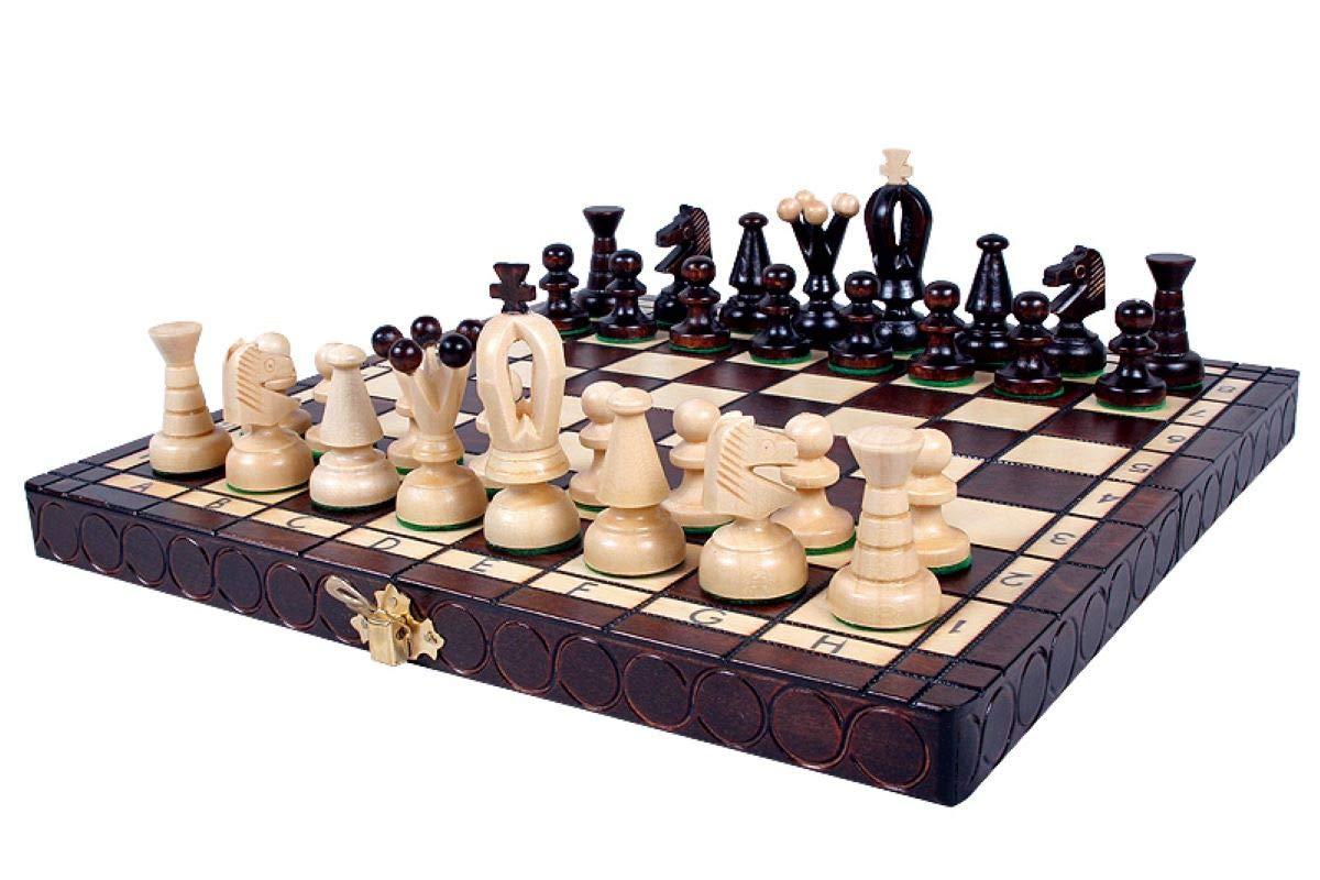 KADAX-Schachspiel-Schach-aus-hochwertigem-Holz-fr-Kinder-Erwachsene-Anfnger-Schachbrett-mit-Figuren-Schachkassette-fr-Haus-Reise-klappbar-Knigshhe-65-mm KADAX Schachspiel, Schach aus hochwertigem Holz, für Kinder, Erwachsene, Anfänger, Schachbrett mit Figuren, Schachkassette für Haus, Reise, klappbar, Königshöhe: 65 mm (Feldgröße: 30 x 30 cm) -