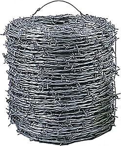 Bobine de fil barbelé en acier 1,7 mM x 500 m
