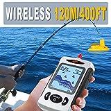Bainuojia Fischfinder Wireless Farbe Tragbarer Portable Angeln Sonar Sensor Verkabelt LCD Tiefe Finder Echolot