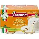 Plasmon Omogeneizzato, Pera e Yogurt, 2 x 120 g
