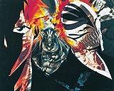 Bleach anime Ichigo Xilografia